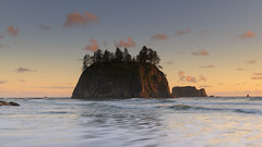 Adventure is worthwhile… (ferpectshotz) Tags: secondbeach olympicpeninsula pacificocean haystacks rocksislands cakesosta sunset beach islands pacificnorthwest hike trail rainforest cold summer ocean sea water sky washington usa landscape nature lapush olympicnationalpark pnw nw