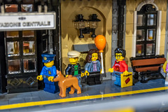 In Italy with friends (Ballou34) Tags: 2018 7dmark2 7dmarkii 7d2 7dii afol ballou34 canon canon7dmarkii canon7dii eos eos7dmarkii eos7d2 eos7dii flickr lego legographer legography minifigures photography stuckinplastic toy toyphotography toys stuck in plastic moc train station friends camera cremona lombardia italie it
