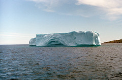So (.grux.) Tags: zorki6 industar225cmf35 collapsible film fujisuperia400 ocean iceberg floating atlanticocean icebergalley newfoundland