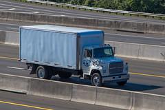 Ford L8000 (NoVa Truck & Transport Photos) Tags: ford l8000 nalls produce franconia virginia