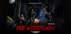 The Woodsmen Poster Version #1 (Five Year Plan) Tags: bigfoot nature film indie sasquatch yeti monster red epic canada ash murrell fiveyearplan