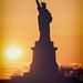 Sun Setting by Liberty