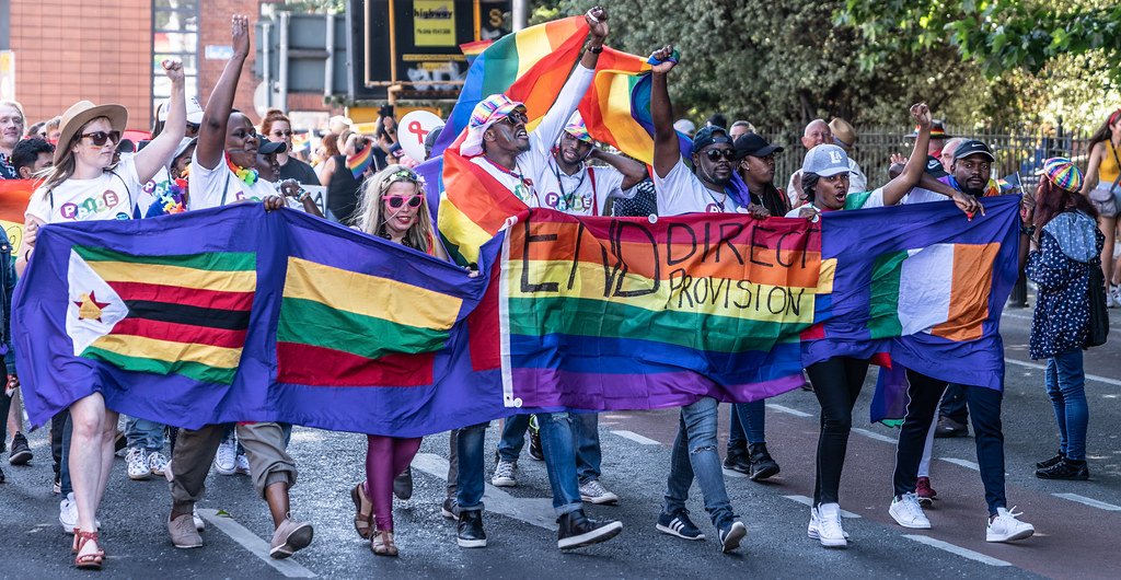 ABOUT SIXTY THOUSAND TOOK PART IN THE DUBLIN LGBTI+ PARADE TODAY[ SATURDAY 30 JUNE 2018] X-100158