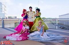 Cinderella Team (Cinder_boy) Tags: disney cinderella cosplay pink dress prince charming