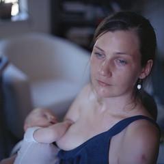Motherhood (Orion Alexis) Tags: film medium format kiev 88 kodak portra 400nc 400 nc mother woman portrait expired hard work tired
