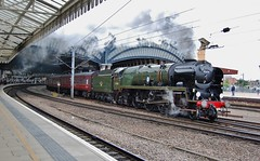 35018 (paul_braybrook) Tags: 35018 britishindialine southernrailway merchantnavyclass pacific steamlocomotive york northyorkshire scarboroughspaexpress carnforth railway railtour charter trains