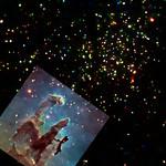 Eagle Nebula and X-Rays thumbnail