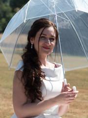 P1190205 (Andy Sut) Tags: wedding bride groom uk traditional england summer matrimony couple romance love british nottingham nottinghamshire lumix