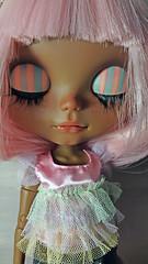 candy (ninim.oo.n) Tags: blythecustom ooak pinkhair tan darkskin