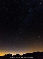 Voie Lactée au dessus de la foret dunaire (pam2433) Tags: étoiles stars voie lactée milkyway france aquitaine gironde médoc le verdon sur mer canon eos 100d 1120 tokina astro astrophotographie