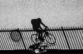 Bicycle shadows II