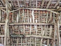 Barn Roof (GeoY5) Tags: spain costadamorte caminodosfaros barn roof woven galicia
