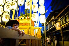 The season is coming #8 (Kyoto) (Marser) Tags: xt10 fujifilm raw lightroom japan kyoto gionfestival lantern nightview magichour kid 京都 祇園祭 木賊山 子供