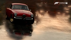 Singing In The Rain (Morc 57) Tags: 1958 alfaromeo giulietta sprint veloce forza fm7 forzamotorsport7 xbox xboxone