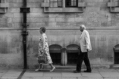 One after the other (haiku-do.photography) Tags: streetphotography streetphoto streetpeople streetphotobw urbanphoto people blackandwhite bw blancoynegro nikon nikond3300 nikonuk 50mm streetphotographer capturestreets everybodystreet spicollective walkers cambridge