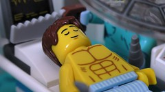 Patient under the knife (rh1985moc) Tags: hospital lego england health service surgery ambulance medical centre