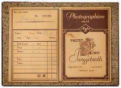 Nostalgie - Photographiere mit Agfa (videamus) Tags: nostalgie pur aufbewahrungsmappe von einem fotogeschäft photo kino junggeburth eschweiler agfa leverkusen faszination fotografieren fotos made germany