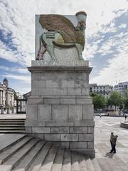 The Invisible Enemy Should Not Exist (padraic collins) Tags: london nergalgateofnineve fourthplinth trafalgarsquare michaelrakowitz lamassu