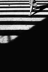 Shadow and Stripes (Meljoe San Diego) Tags: meljoesandiego fuji fujifilm x100f streetphotography crossing pedestrian candid monochrome philippines