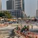 Roadway construction, Abu Dhabi