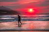 El surfista (Jabi Artaraz) Tags: laarena zierbena playa surf surfista sport deporte atardecer mar cantábrico