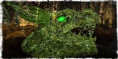 ~*SR*~ Puck`s  Magical Hideout 02 (Mondi Beaumont) Tags: sl hunt gift midsummer night dream grid wide gridwide sweet revolutions sweetrevolutuins ~sr~ dragon overgrown garden deco decoration mystic magic fantasy secondlife