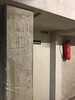 Ausgang/Exit B, Juni 2018 (-masru-) Tags: architecture architektur doors kaiserslautern projects projekte tiefgarage utata weekendproject undergroundcarpark utata:project=doors
