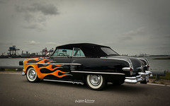Packard at CTTH 2018 (Willem Vernooy (FoToWillem)) Tags: packard convertible cabrio cabriolet uscar uscarshow usacars usacarshow car carmeet carshow carmeeting carshoot carclub carevent scraperscc jesterscc cruisetotheheadlands rozenburg rotterdam haven harbor nederland netherlands dutch vlammen flames specialpaint whitewalls auto automobiel automeeting automeet autoday automotive automobile ftw fotowillem willemvernooy