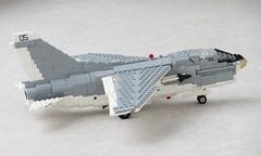 A-7E Corsair II WIP June 23rd (Mad physicist) Tags: lego workinprogress a7e corsair jet wip