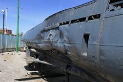 What happens when you depth charge a U-boat. (DaveAFlett) Tags: merseyside uboat secondworldwar