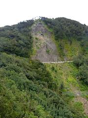 Csuszamlás (ossian71) Tags: spanyolország spain kanáriszigetek canaryislands gomera lagomera garajonay tájkép landscape természet nature hegy mountain geológia geology