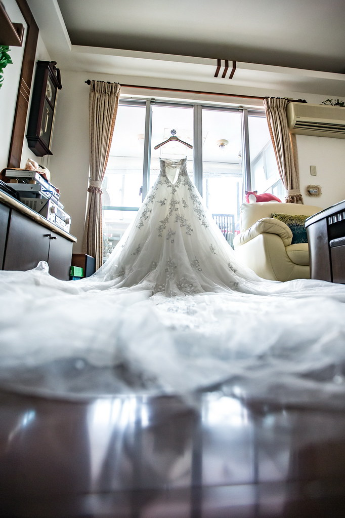 0001婚禮紀錄-婚攝-新莊典華-白紗