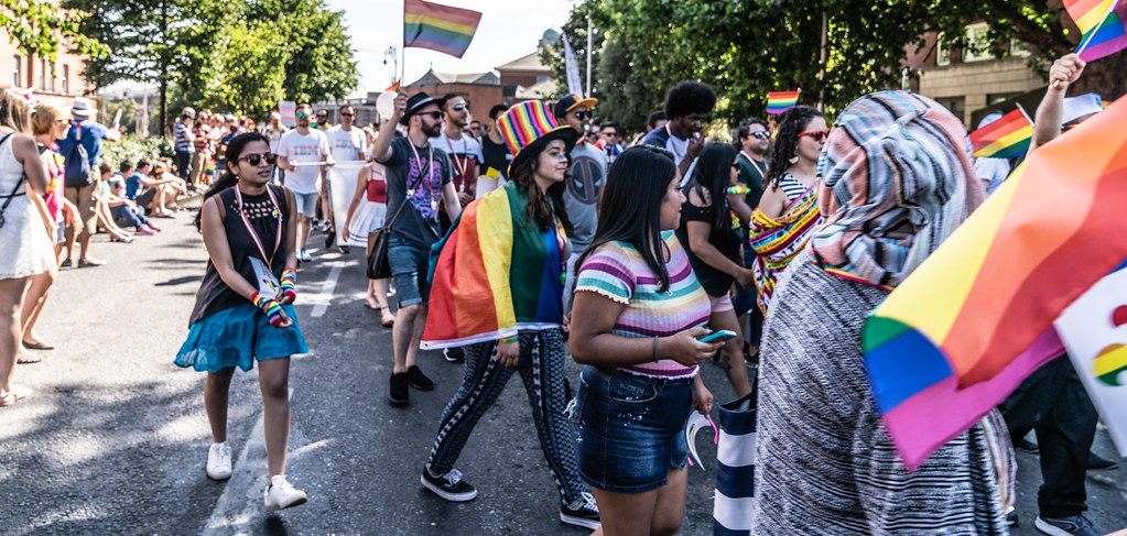 ABOUT SIXTY THOUSAND TOOK PART IN THE DUBLIN LGBTI+ PARADE TODAY[ SATURDAY 30 JUNE 2018] X-100170