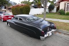 Merc Fatboy Custom (bballchico) Tags: merc mercury fatboy custom chopped pinstripe carshow westcoastkustomscruisinnationals
