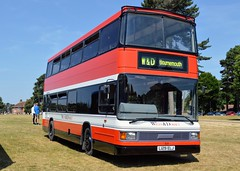 3129 L129ELJ (PD3.) Tags: bus buses psv pcv bournemouth dorset england uk rapt group yellow wilts optare spectra 3129 l129elj e129 elj