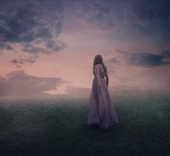 Clouded mind (Deltalex.) Tags: alexbenetel girl woman clouds field grass magical fairytale conceptualphotography surrealphotography fineart fineartphotography nikond850 sydneyaustralia australia sydney deltalex