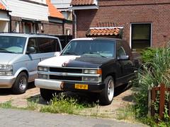 1995 Chevrolet 1500 Stepside V8 (brizeehenri) Tags: chevrolet 1500 stepside 1995 07vpjp schiedam