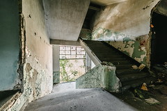 25/30 2017/06 (halagabor) Tags: urban urbex urbanexploration urbanexploring exploration exploring explorer abandoned abandonment decay derelict devastation nikon d610 building architect architecture lost lostplaces old forgotten industrial factory indoor samyang samyang14mm 14mm stairs stairway budapest hungary hungarian