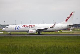 EC-IDA | Air Europa | Boeing B737-86Q(WL) | CN 32773 | Built 2002 | DUB/EIDW 22/05/2018 | Sporting both Jet2 and Air Europa decals