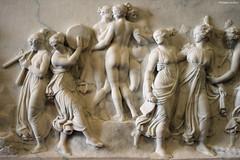 """Bertel Thorvaldsen : """"Danse des muses au mont Hélicon"""" (philippeguillot21) Tags: thorvaldsen basrelief sculpture muse hélicon pixelistes art canon danse nu toge femme woman girl fille lady"""