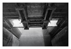 sluice (rcfed) Tags: hasselblad mediumformat film trix rodinal stand landscape industrial romantic sun water