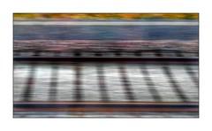 320 Km/h (Jean-Louis DUMAS) Tags: tgv abstract abstrait abstraction rail train vitesse art artist artistic artistique artiste couleur colors apple iphone iphone7plus