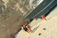 IMG_1067 (SyrianSindibad) Tags: greece zakynthos navagiobeach shipwreckbeach smugglerscove