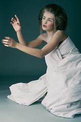 Iulia (MihailDolghintev) Tags: studio makeup hair lips white girl model mood nikon d5200 editorial light