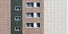 variations on the topic of panel construction (bilderkombinat berlin) Tags: ⨀2018 berlin hellersdorf eu facade fassaden capital 2d windows pattern deutschland europa apartments tristesse plattenbau ddr east city germany