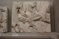 London, England, UK - British Museum - Ancient Greece and Rome - Parthenon Galleries - Frieze (jrozwado) Tags: europe uk unitedkingdom england london museum britishmuseum history culture anthropology frieze parthenon greek