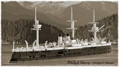 Æðelþryþ hildescip · sumortid mdcccxci (Awesome-o-saurus) Tags: lego ship ironclad alexandra