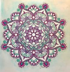 Beautiful Mandalas - #7 (ronniesz) Tags: staedtlertripluspens abstractart pastels adultcoloring mandalas