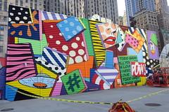 NYC - FiDi: Two World Trade Center Mural Project - Todd Gray (wallyg) Tags: 2worldtradecenter downtownmanhattan fidi financialdistrict graffiti manhattan mural newyork newyorkcity ny nyc streetart toddgray twoworldtradecentermuralproject worldtradecenter