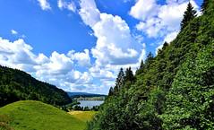 Lac Brenêt (Diegojack) Tags: vallorbe vaud suisse d7200 nikon nikonpassion payages lac valléedejoux brenet ciel nuages groupenuagesetciel